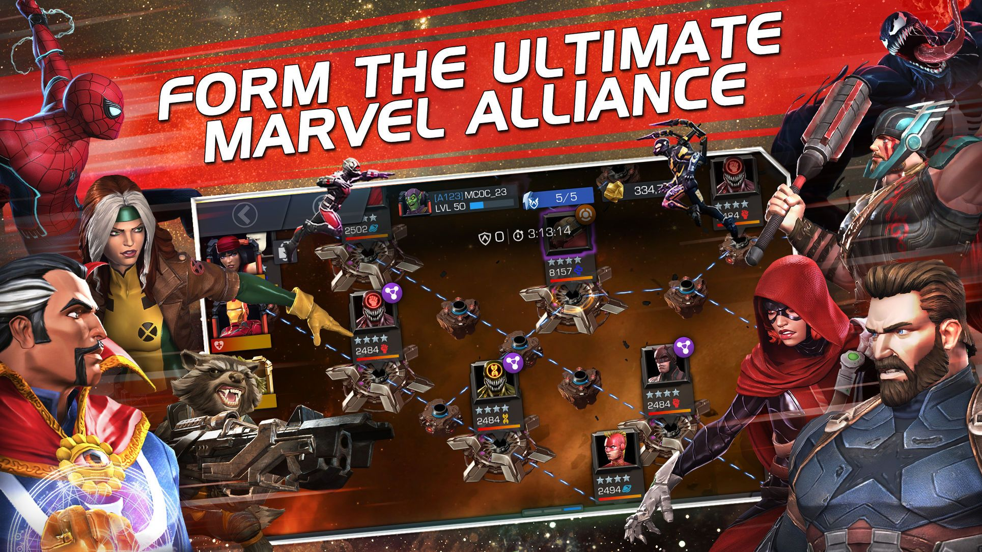 ‎MARVEL Contest of Champions on the App Store Contest of