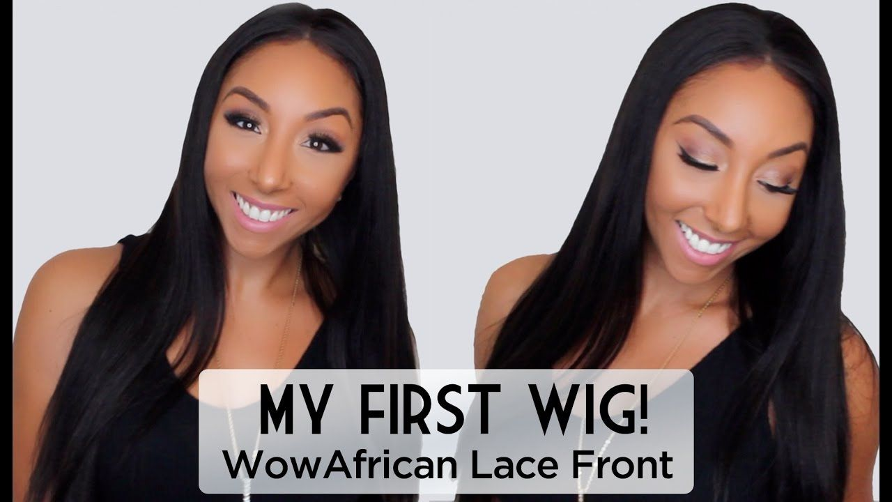 First impressions on lace front wig love her results i