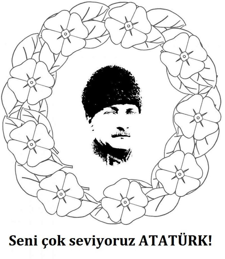 29 Ekim Cumhuriyet Bayrami Boyama Sayfalari Boyama Sayfalari Sanat Boyama Sayfalari Mandala