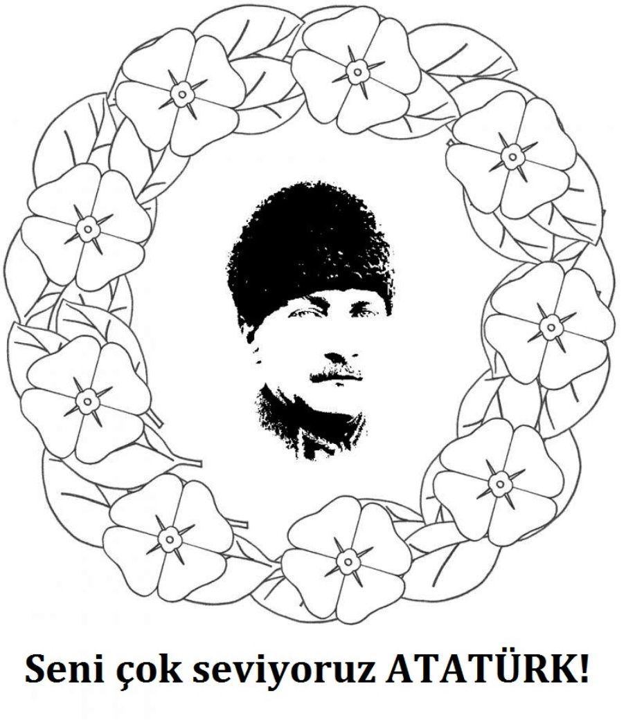 29 Ekim Cumhuriyet Bayrami Boyama Sayfalari Boyama Sayfalari Sanat