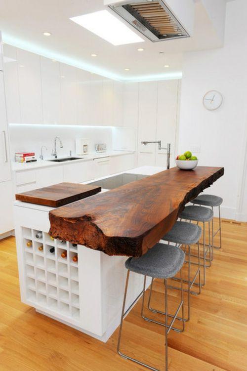 Bilder mit Einrichtungsideen küche tisch arbeitsplatte Küche - küchenschrank mit arbeitsplatte