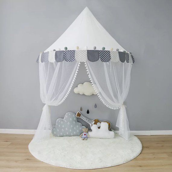 Small Kids Canopy Wall Hanging Canopy Bed Canopy Hanging Baby Room Decor Hanging Tent Bed Tent