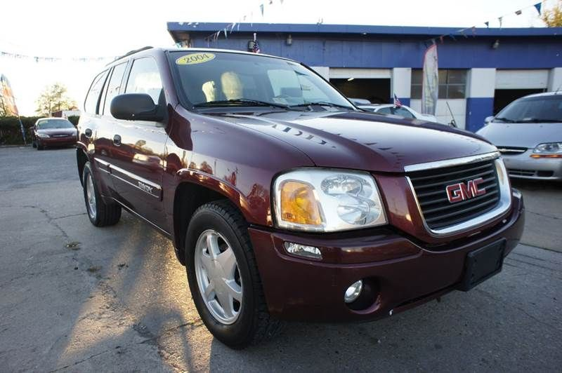 2002 Gmc Envoy Sle 4wd 4dr Suv In Richmond Va Escro Motors 2