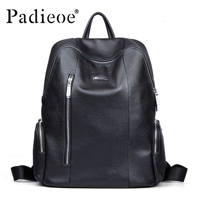 Leather · Good price 2016 New brand men s leather backpacks cow leather  casual shoulder bag ... bcd99694240ca