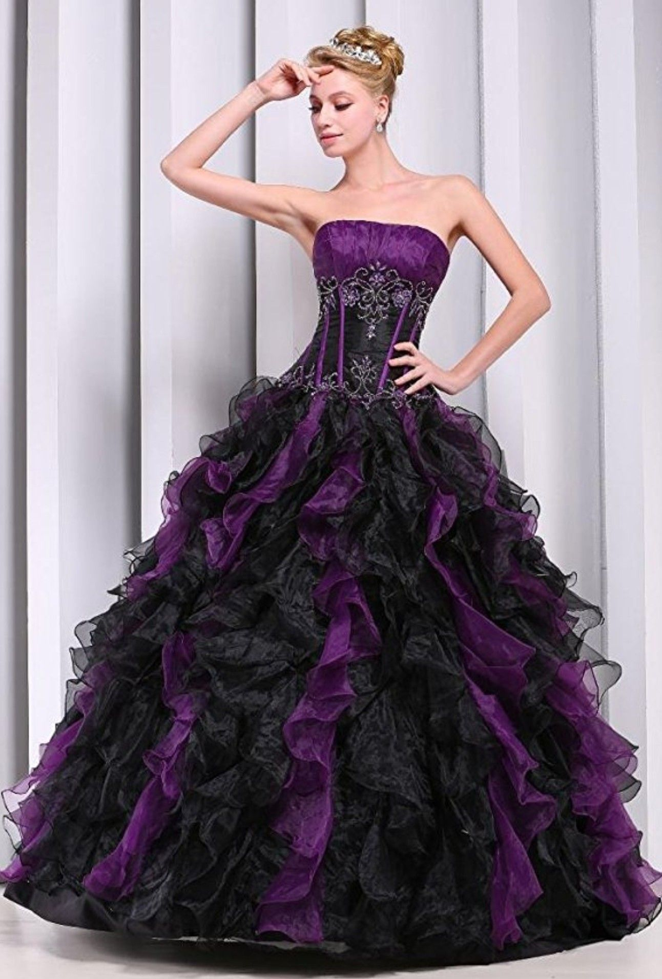 Nightmare before Christmas quince dress | Paiton Quince in 2018 ...