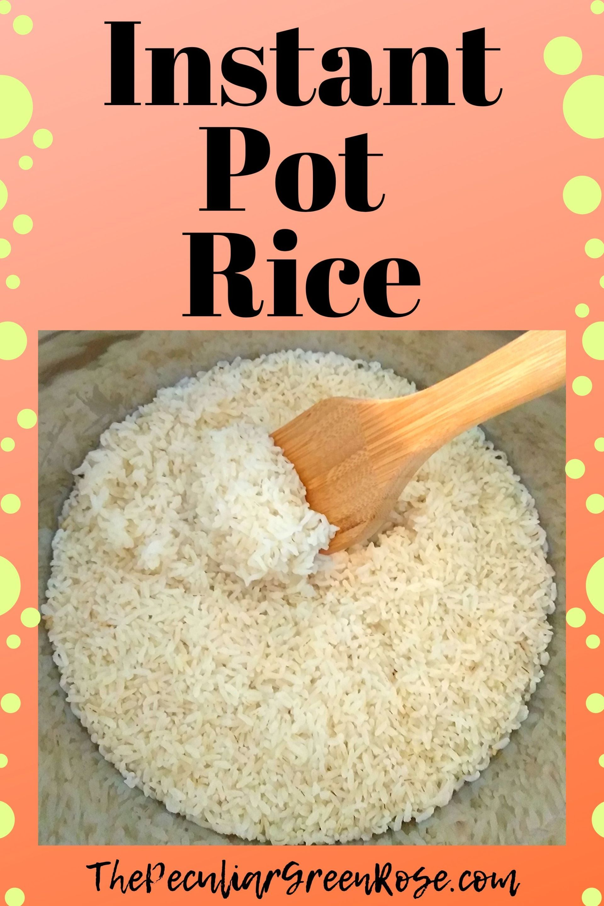 instant pot rice  recipe  instant pot cheap meals to