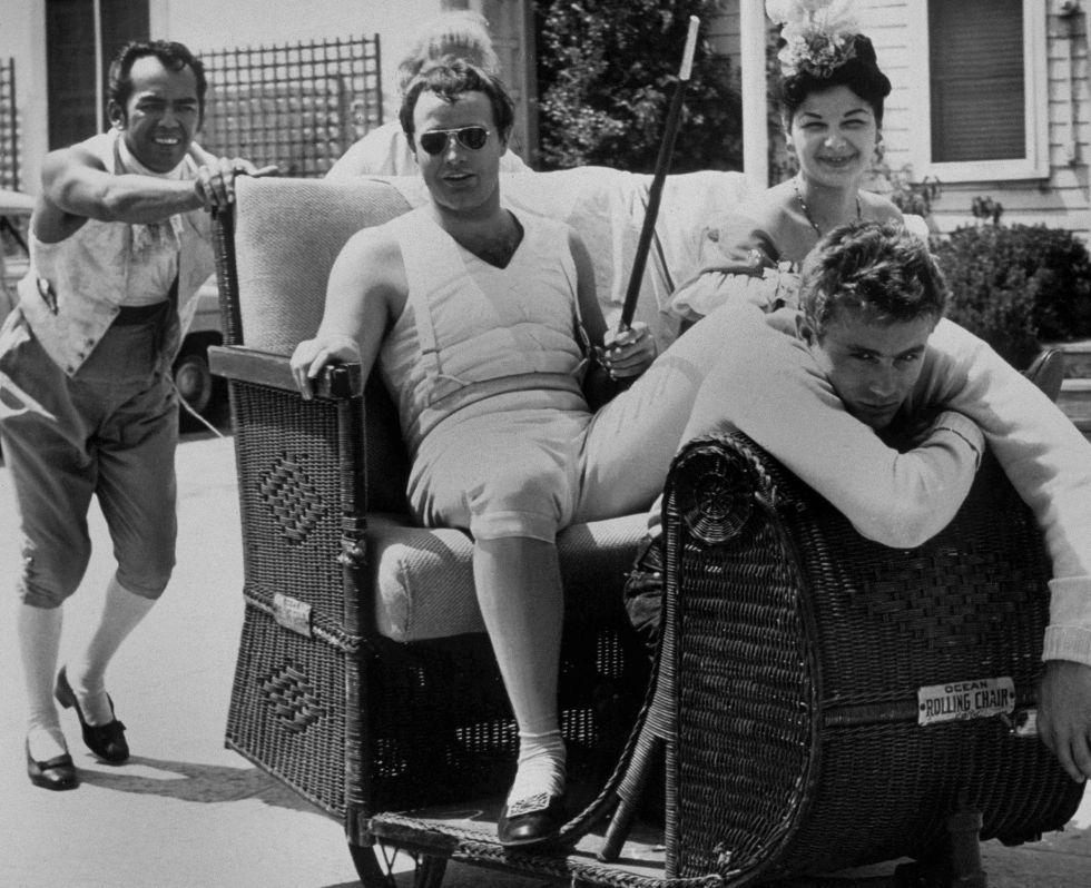 La íntima Relación Entre James Dean Y Marlon Brando