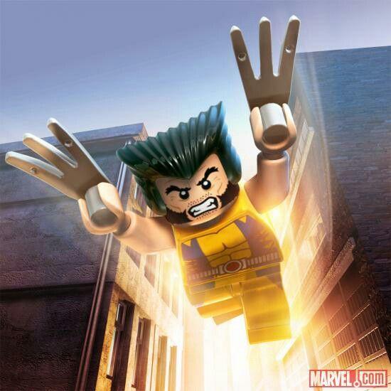 Wolverine Lego Marvel Lego Marvel Lego Marvel Super Herois Marvel Super Herois