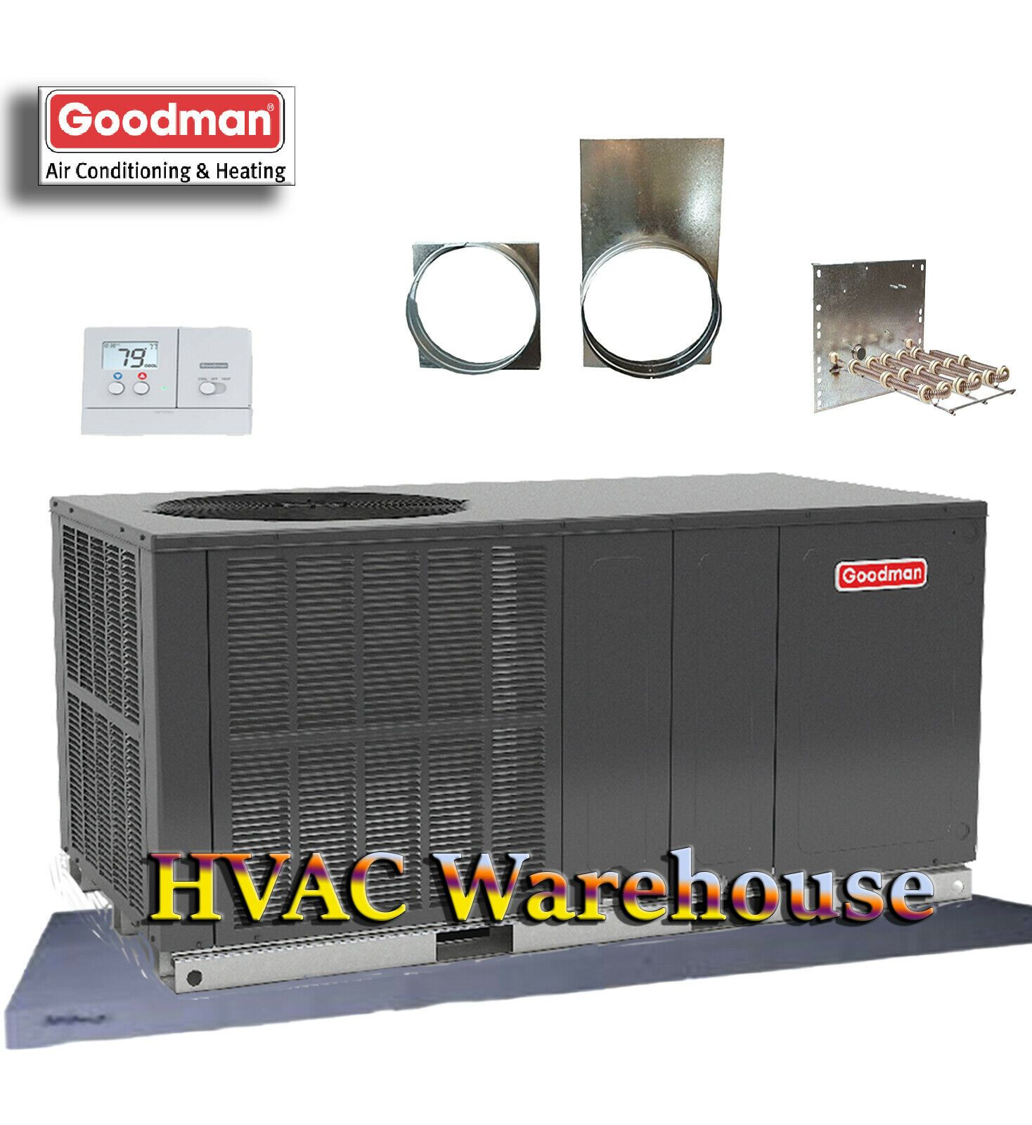 Goodman Package Unit Locker Storage Heat Pump The Unit