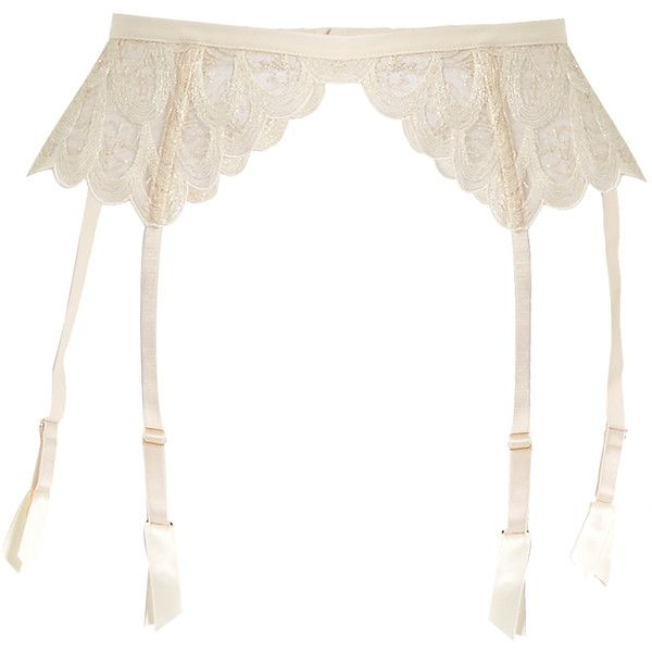 Coco De Mer Pandion embroidered-lace suspender belt The Cheapest Cheap Price 0aGAE3z2v