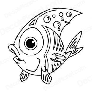 Cartoon Fish Big Eyes Google Search Fish Coloring Page Coloring Pages Cartoon Fish