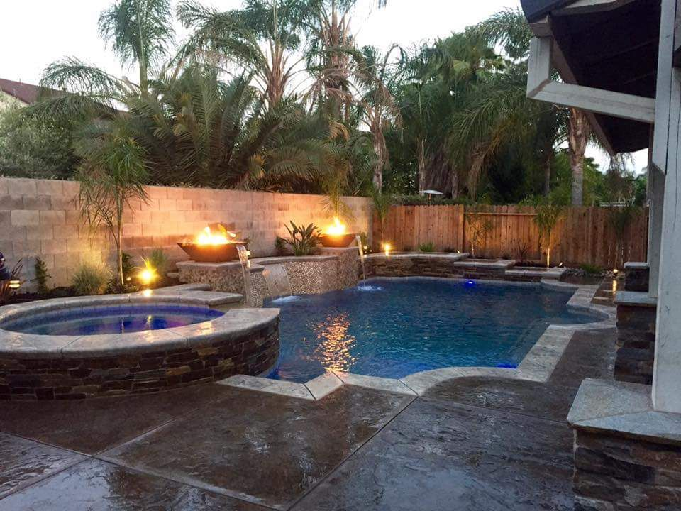 Pool idea for a small backyard. | Small backyard pools ...