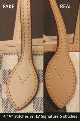 How To Spot A Fake Louis Vuitton Bag See It In Pictures Here Wondermika Projeto De Bolsas Acessorios De Couro Bolsas De Couro