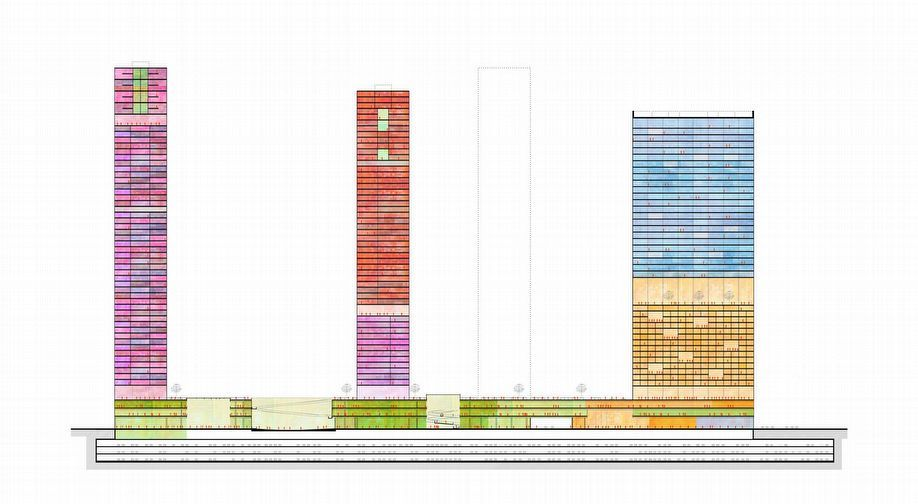 Anglang Towers Eco Urban Building Complex Shenzhen China