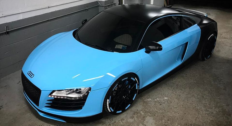 Junior Supercar Say What? The BugAudi R8 Get Its Chir-on