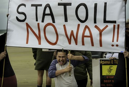 Stop Statoil - Stop Deep Sea Oil