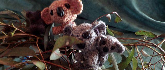 Ravelry: Weaver the amigurumi koala pattern by Sharon Pridmore