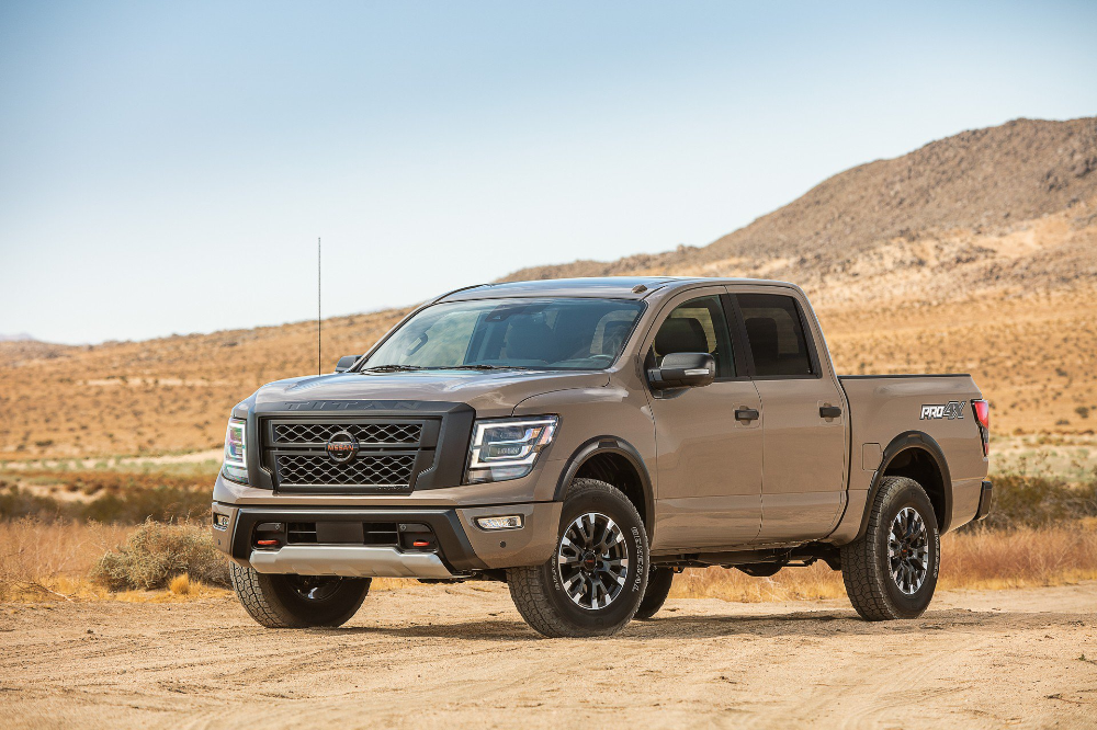 2020 Nissan Titan Debuts With More Power New Tech And Revised Styling Nissan Titan Nissan Pickup Car