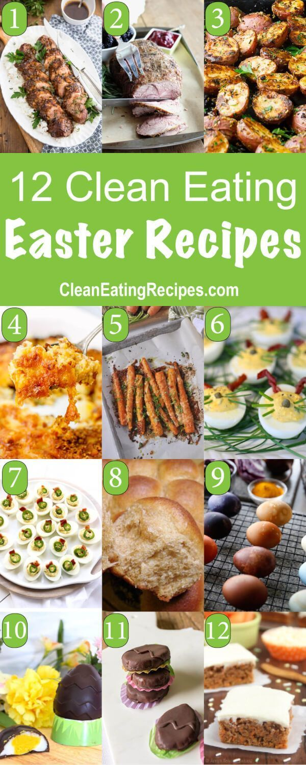 Photo of 12 of the Best Clean Eating Easter Recipes #Clean #Dinner #Eating #Family #Index…
