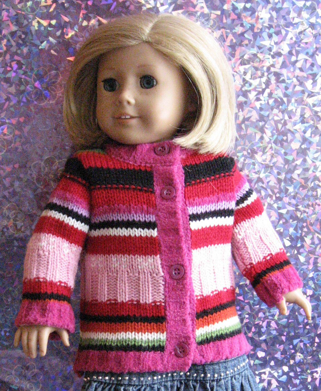 """Debs Poodle SKIRT SWEATER SCARF SHOES SHOES Doll Clothes For 18/"""" American Girl"""