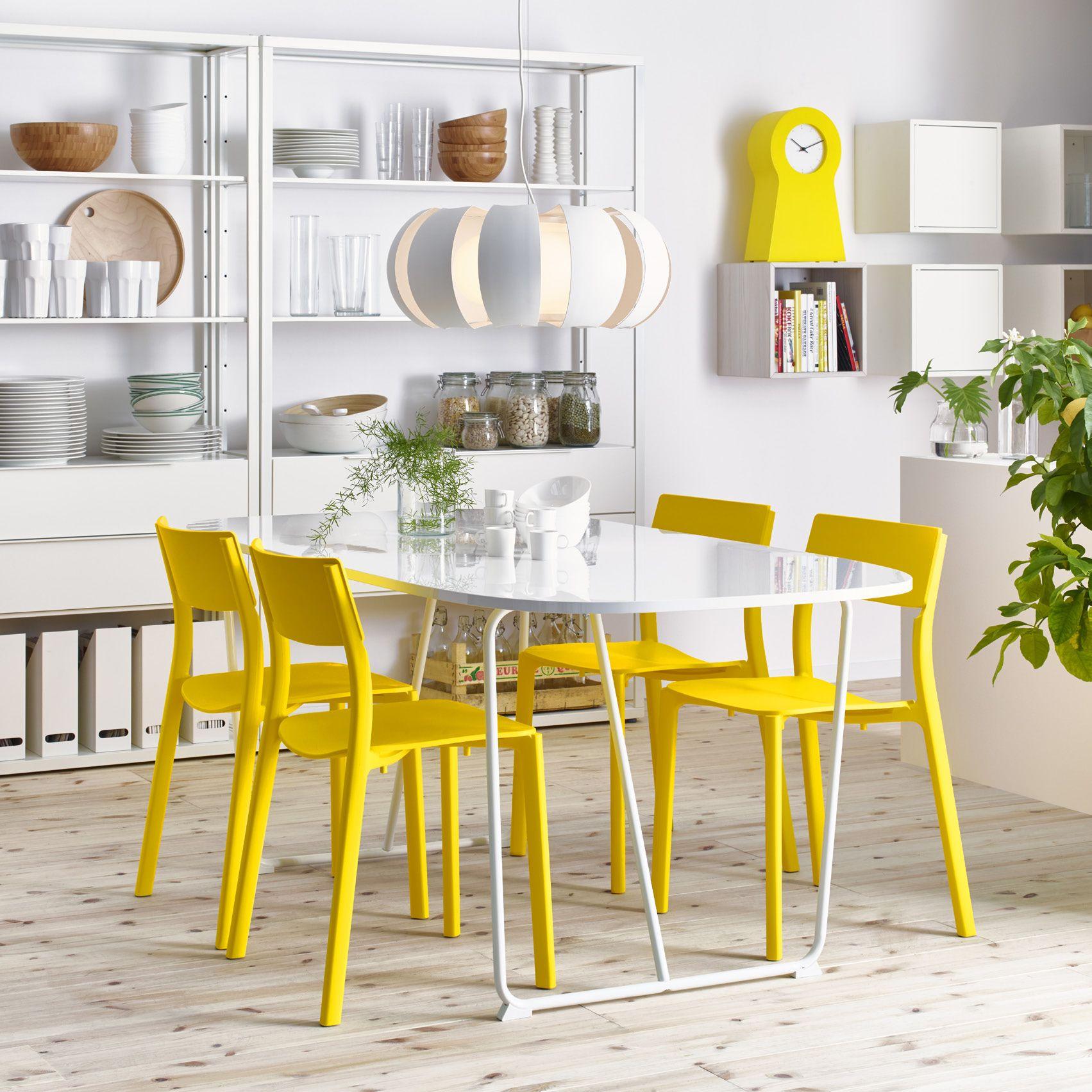 Moderne Witte Eettafel.Nederland Eetkamer Ikea Witte Eettafel En Tafel Ikea