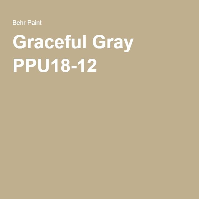 Best Graceful Gray Ppu18 12 Behr Paint 400 x 300