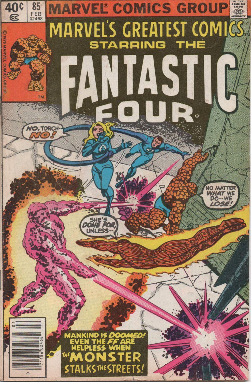 Marvel comics feb 1980 fantastic four good shape by
