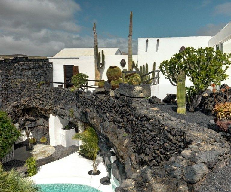 La casa studio a lanzarote di c sar manrique icon design - Las casas canarias lanzarote ...