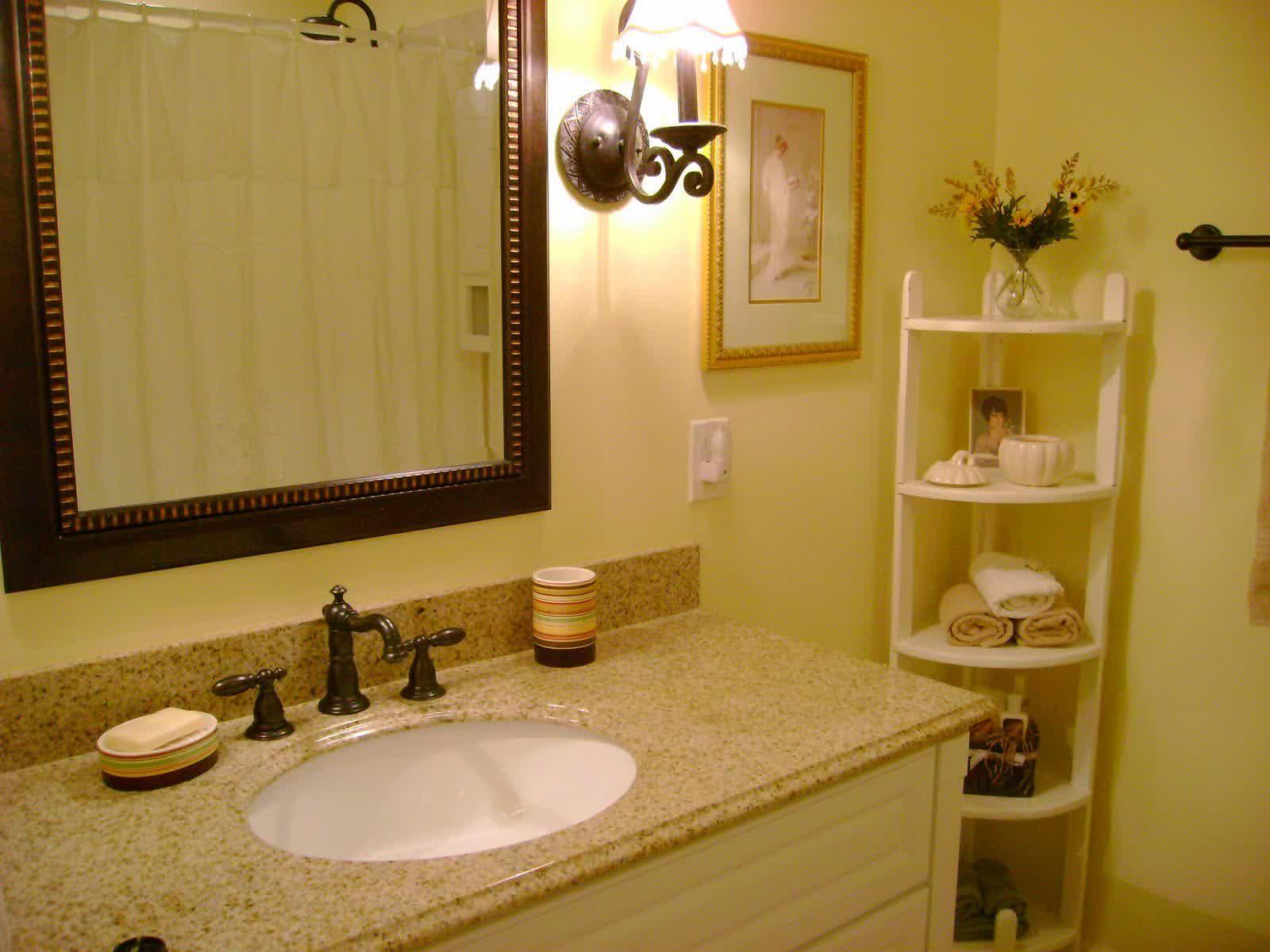 Bathroom Countertop Color Ideas Ideas Pinterest - Bathroom drawers on wheels for bathroom decor ideas