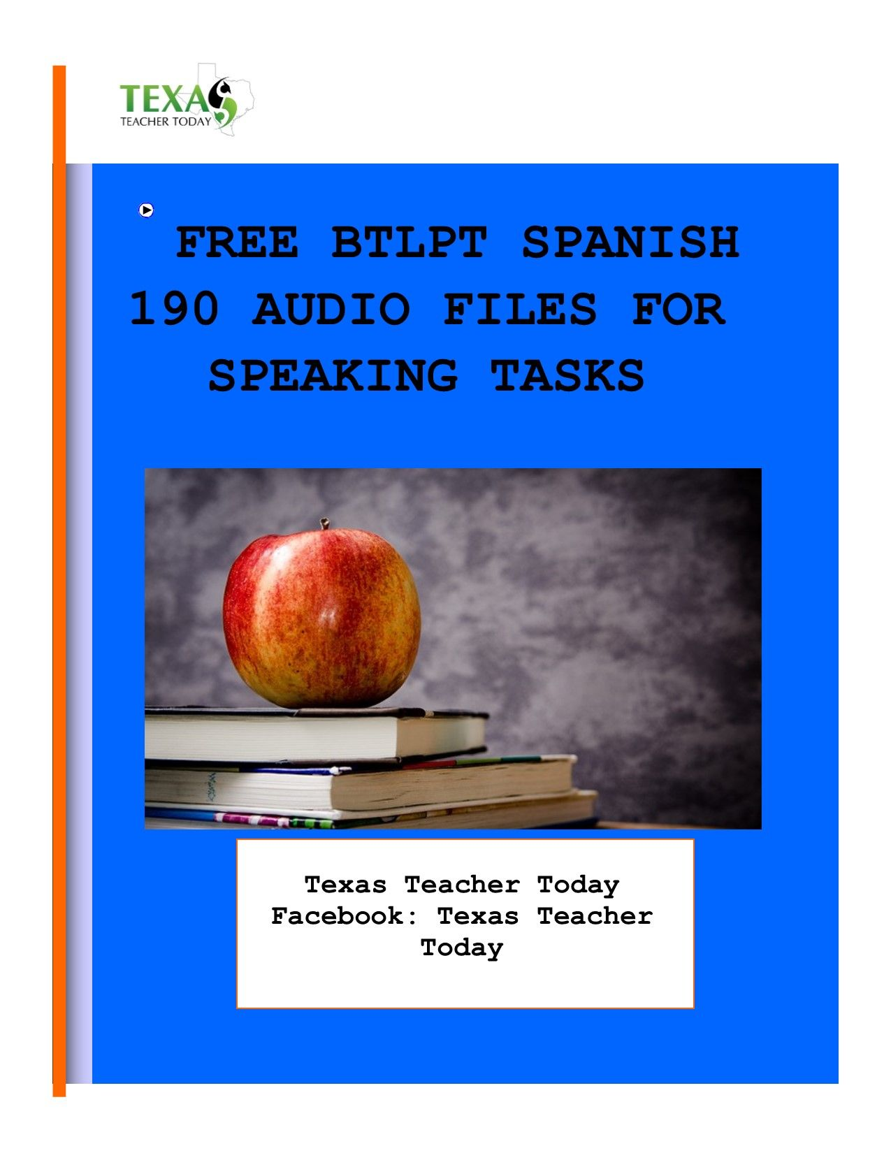 FREE audio files for speaking/oral tasks for the BTLPT Spanish 190 exam.  #BTLPTSpanish #BTLPTSpanish190