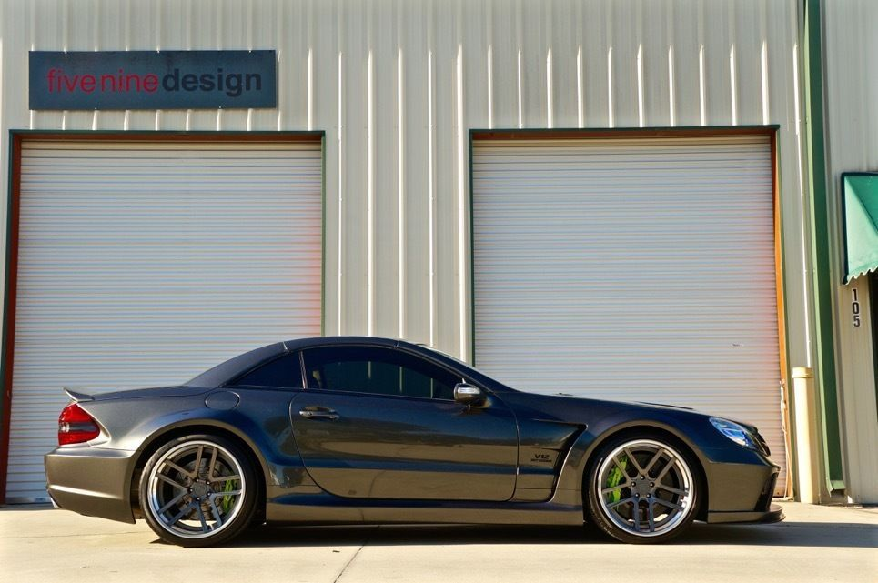 Mercedes Benz SL Class SL65 AMG Prior Design Black Series | eBay