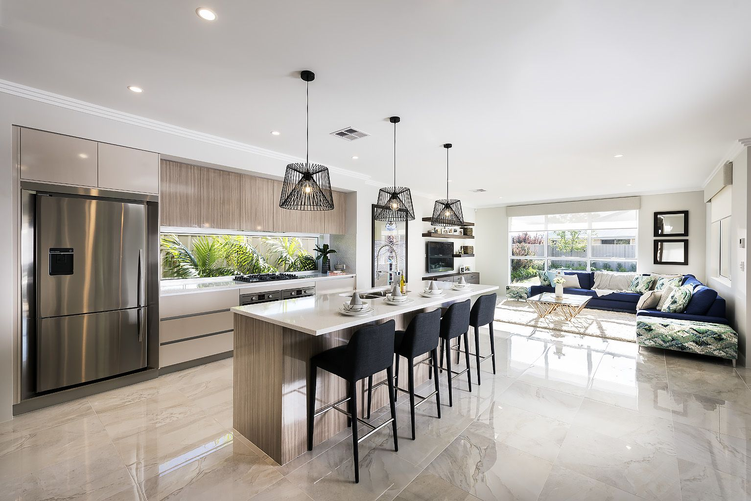 Kitchen Ideas Perth the aster © ben trager homes   perth display home   open plan
