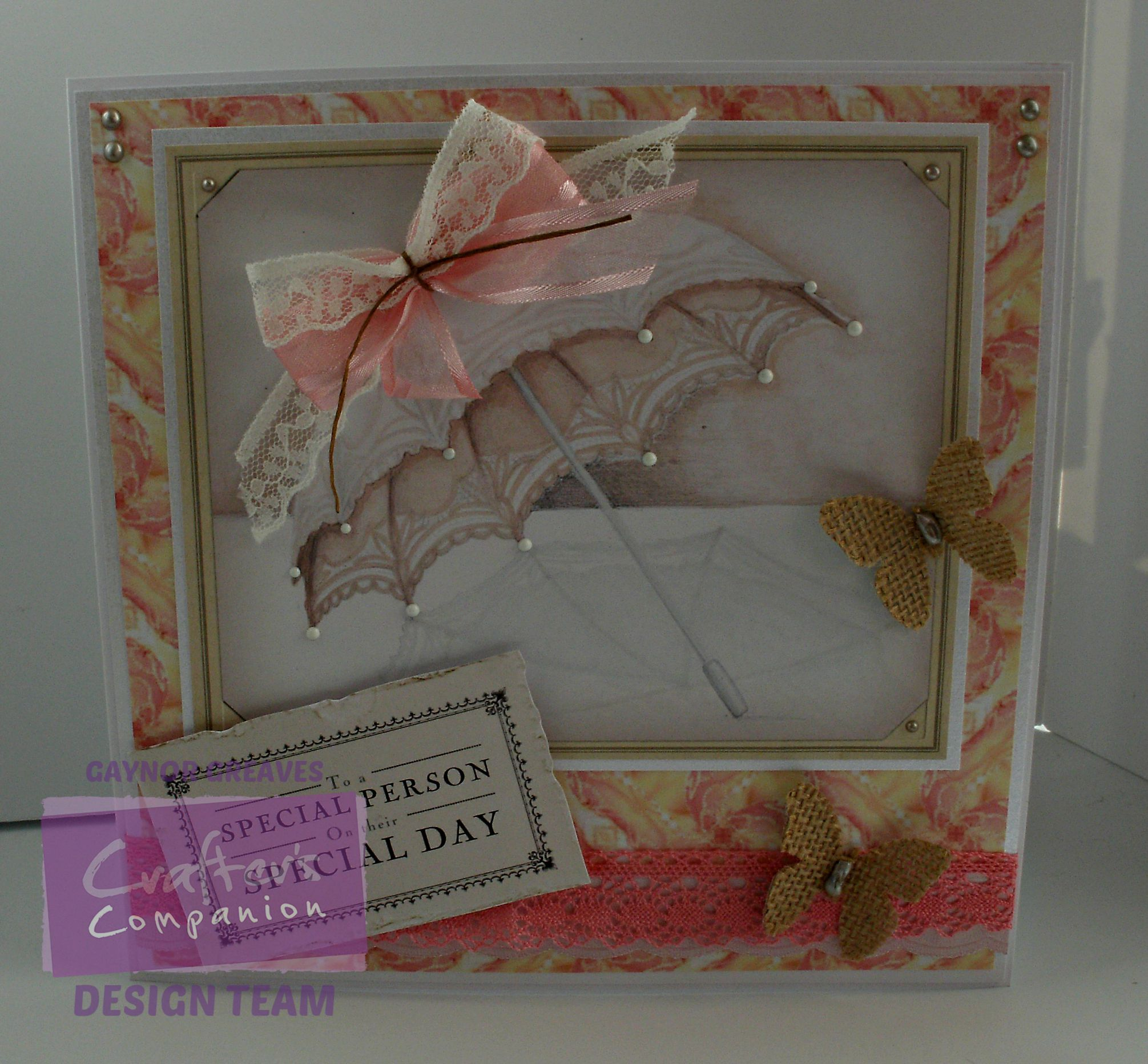 Gaynor Greaves - Downton Abbey - CD1 Topper Design 7 - CD1 - Design Paper 5 Lady Rose MacClare - CD2 - Trims design 12 - CD2 Sentiment design 1 - Printable Light card - Centura Pearl Hint Of Silver - Collall All Purpose, Tacky & 3D Glue Gel - #crafterscompanion #DowntonAbbey