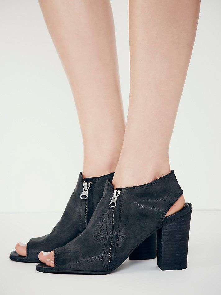 Coconuts by Matisse Dolan Peep Toe Heel at Free People Clothing Boutique