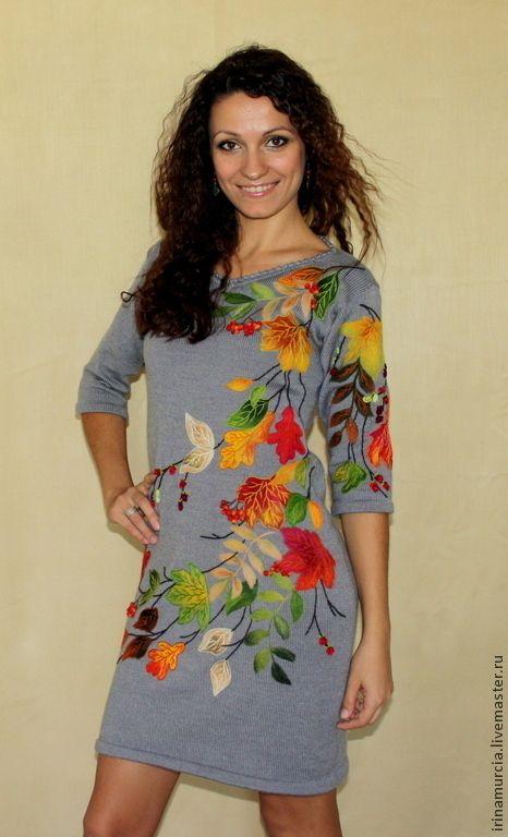 6fccab14940386e Платья ручной работы. Платье | Painting ideas | Painted clothes ...