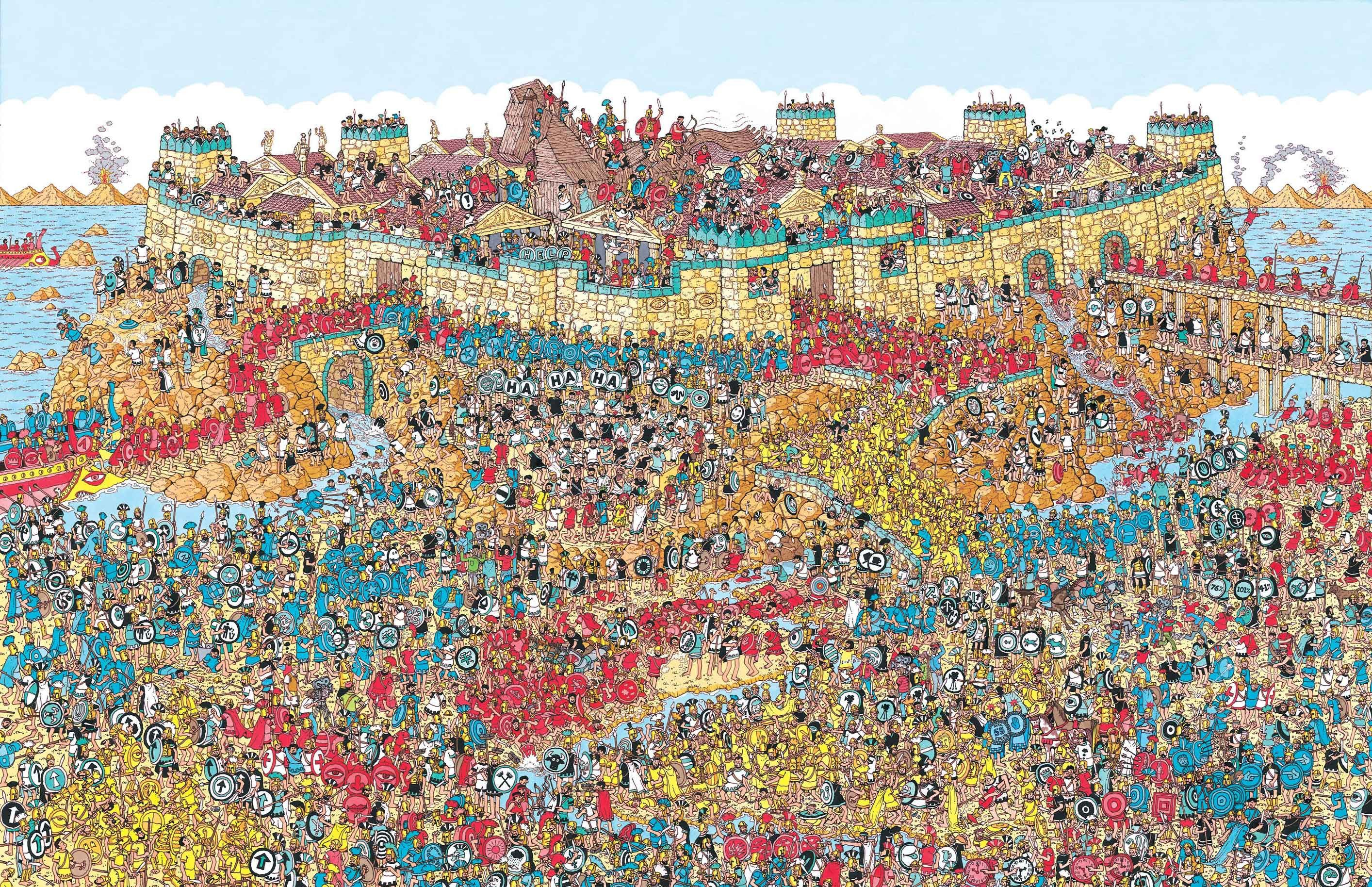 Where's Waldo Mobile Troy Map Where's Wally? Where's Waldo ...