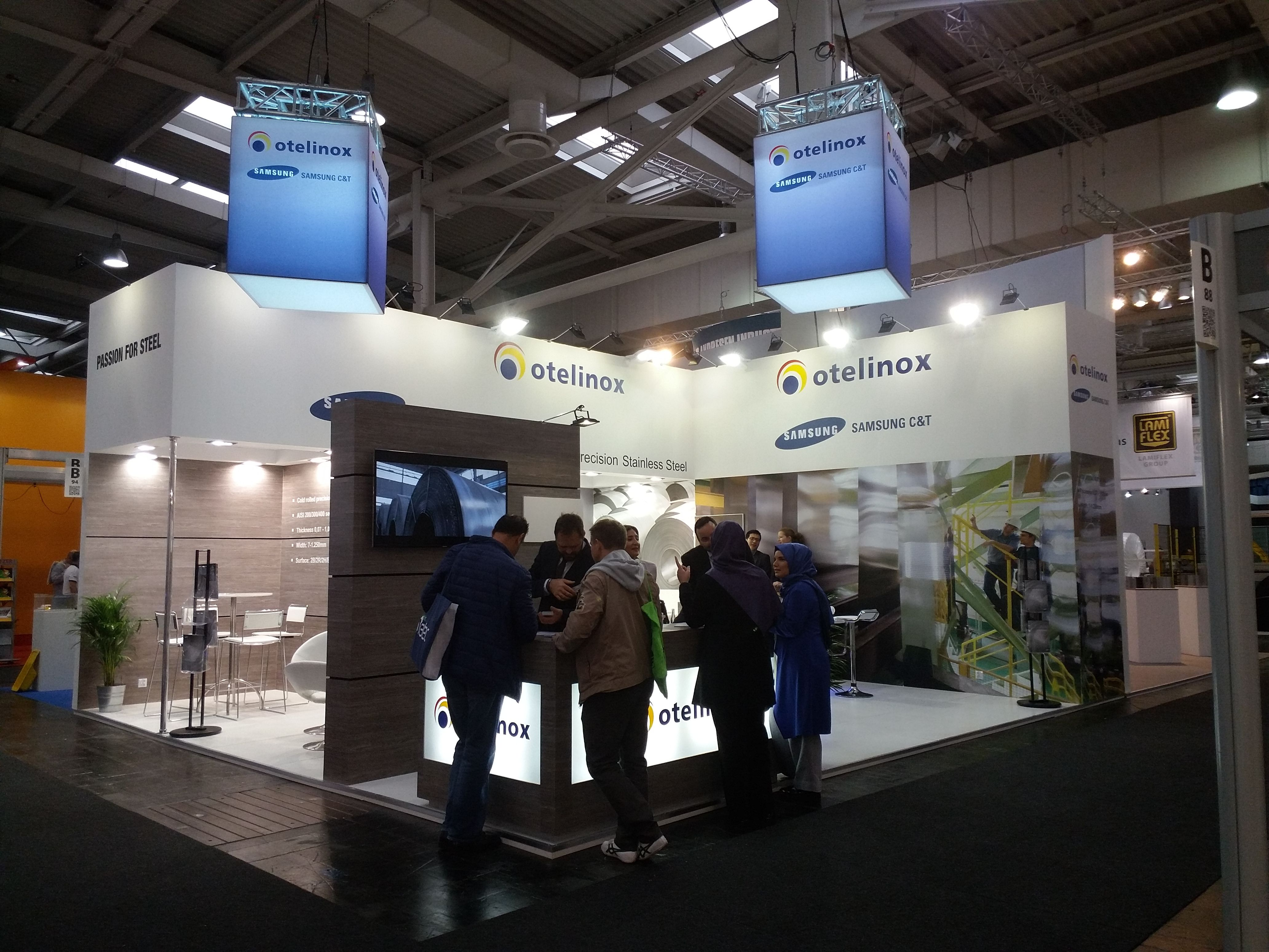 Our one more  #Exhibition Stand Design & Construction Services For Otelinox In Euroblech 2016 Hannover. www.triumfo.de