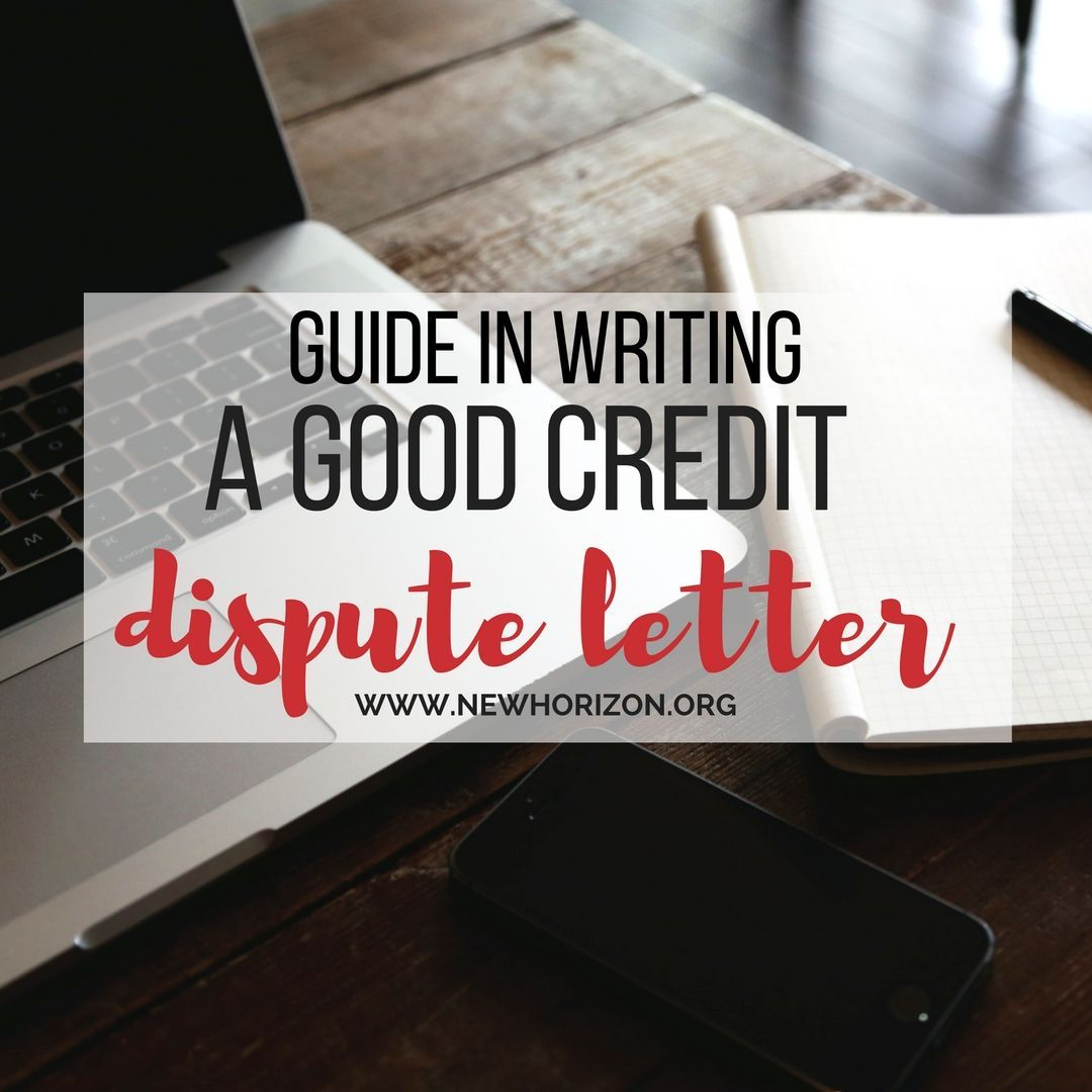 Pointers In Composing A Good Credit Dispute Letter  Time To Fix