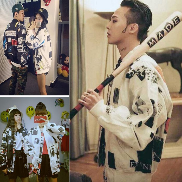 >> Click to Buy << Bigbang Band Memory Singer G-dragon Cool Spring Summer Autumn Printed Thin Bomber Jacket Coat for Fan Club Clothing Cheap Price #Affiliate