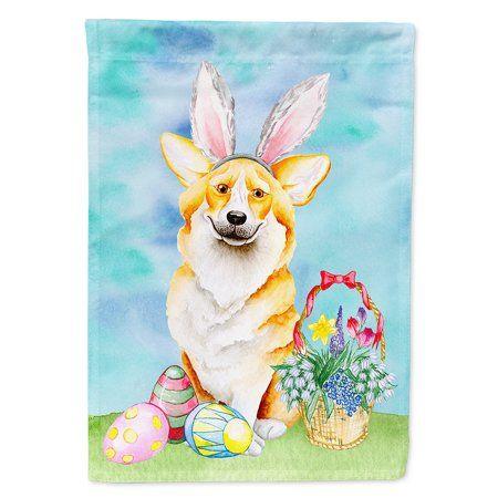 Corgi Easter Bunny Garden Flag - Walmart.com