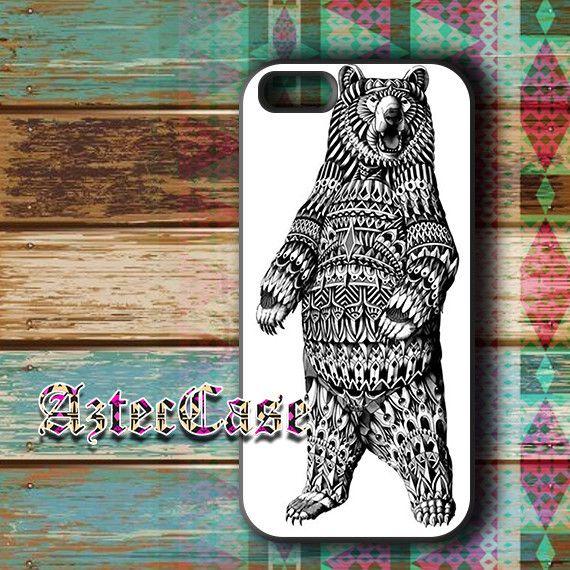Ornate Bear iPhone 11 case