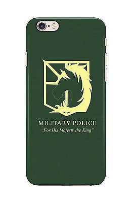 Details about Attack On Titan Military Police Phone Cover