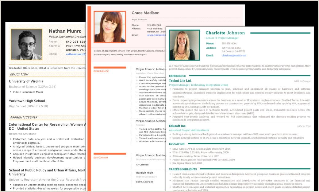 Cv maker resume templates with photo in 2020 job resume