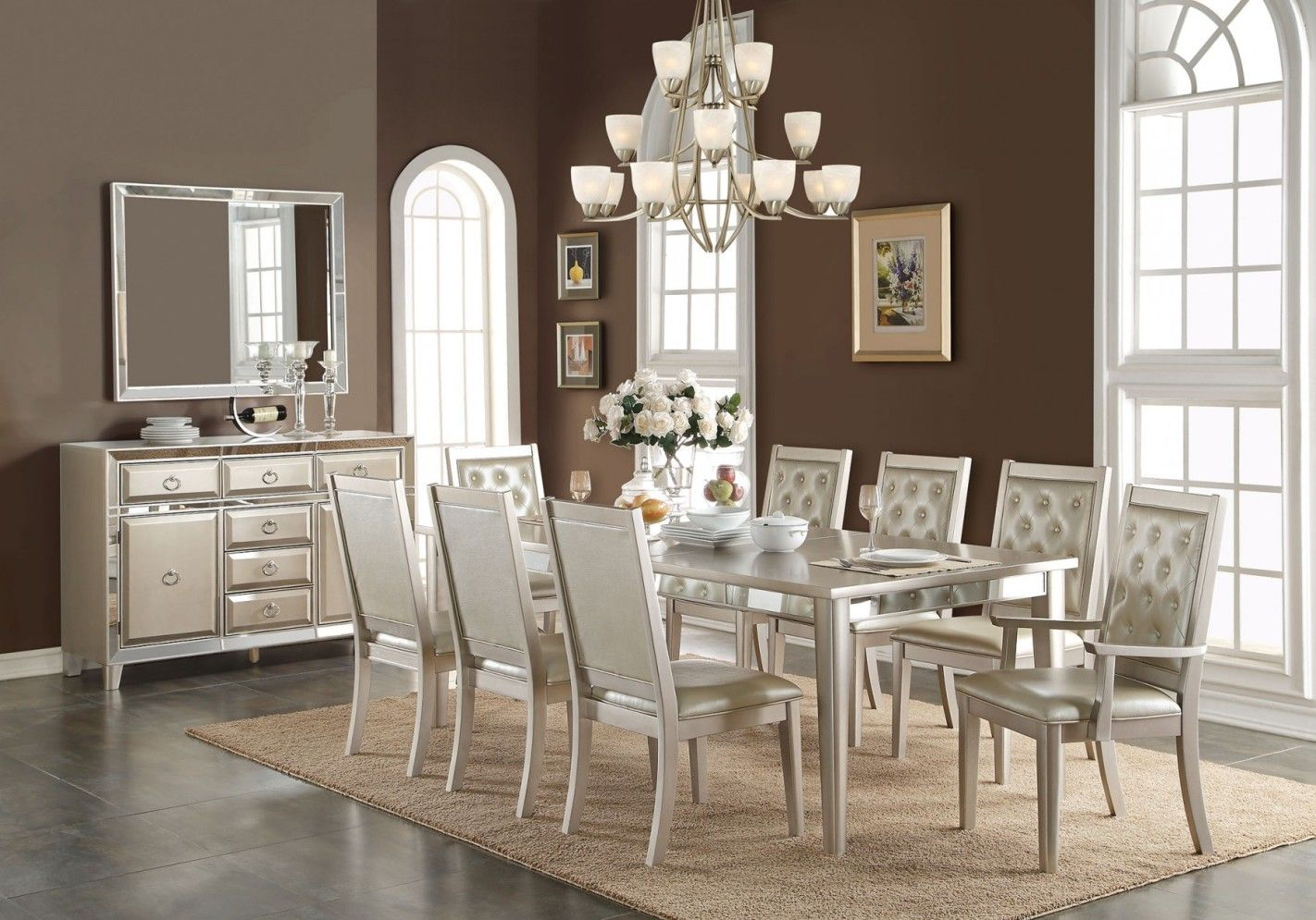 Formal Dining Room Sets  Improving How Your Dining Room Look Glamorous Antique Formal Dining Room Sets Design Ideas