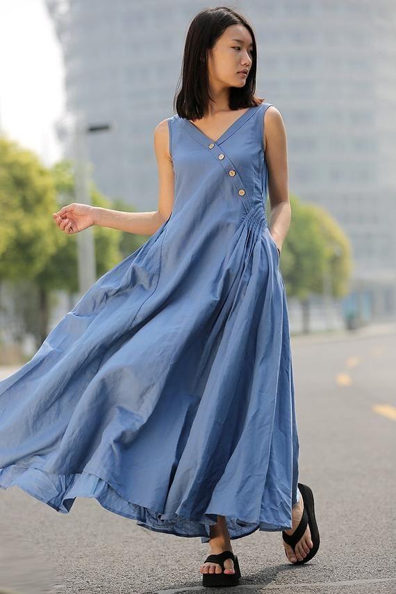 Ruffle Long Sleeve V Neck Belted Lady Maxi Dress 2018