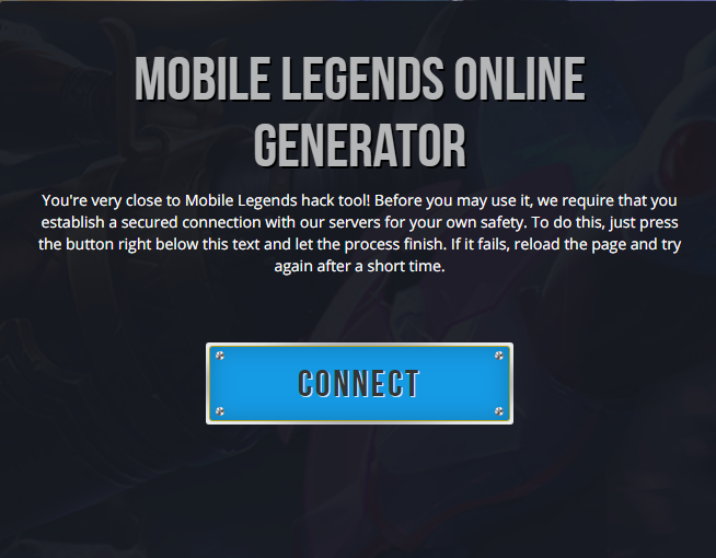 Mobile Legends Hack Tool For Android And Ios Unlimited Free