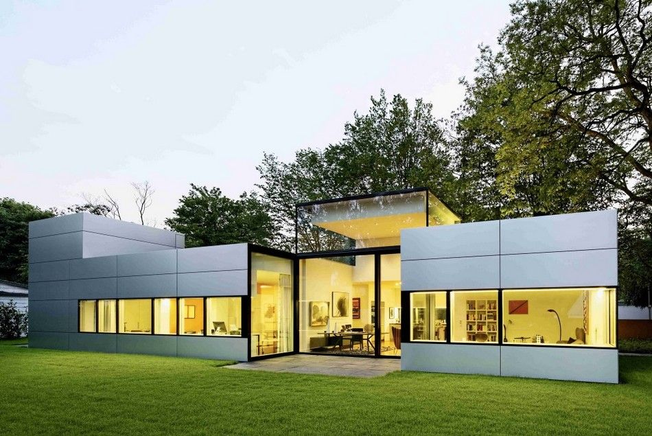 Top 7 Home Architecture Designs Metal facade Facades and Modern