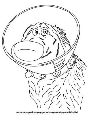 Pixar Up Coloring Pages Disney Coloring Pages Dog Coloring Page