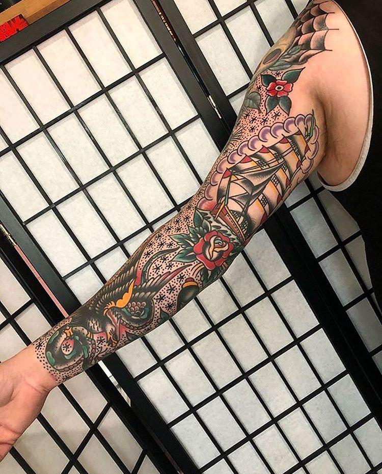 Pin by Chris Payne on Tattoos   Vintage style tattoos ...