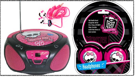 Monster High Bedroom Furniture Sound Accessories